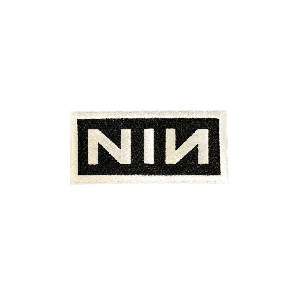 NIN LOGO PATCH - NINE INCH NAILS