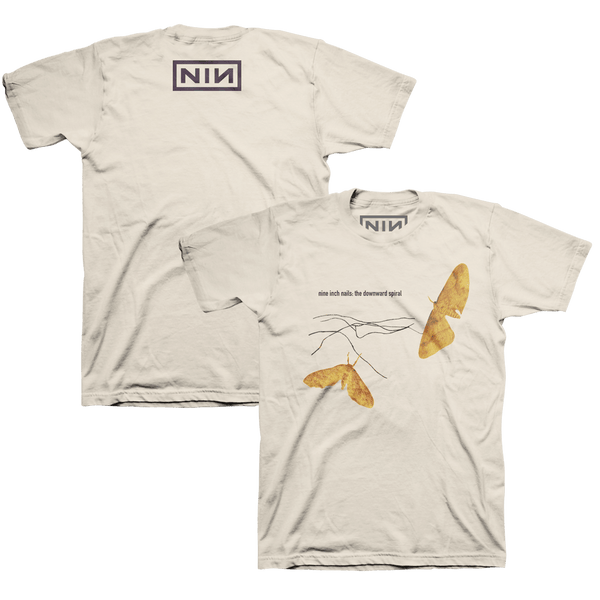 MOTH TEE - NINE INCH NAILS