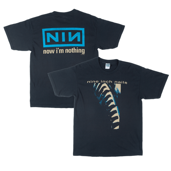NOW I'M NOTHING TEE - STONE WASH - NINE INCH NAILS