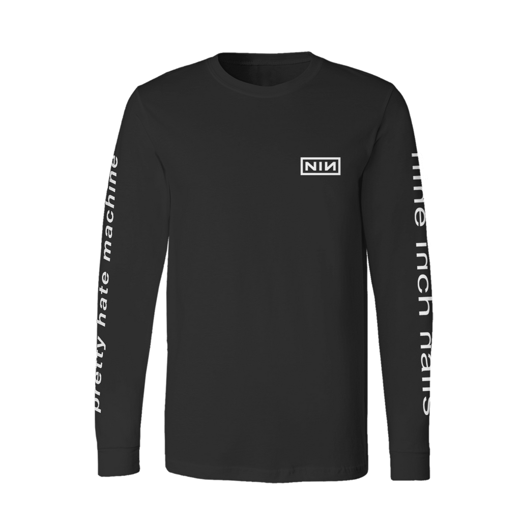 PRETTY HATE MACHINE LONG SLEEVE TEE – Nine Inch Nails