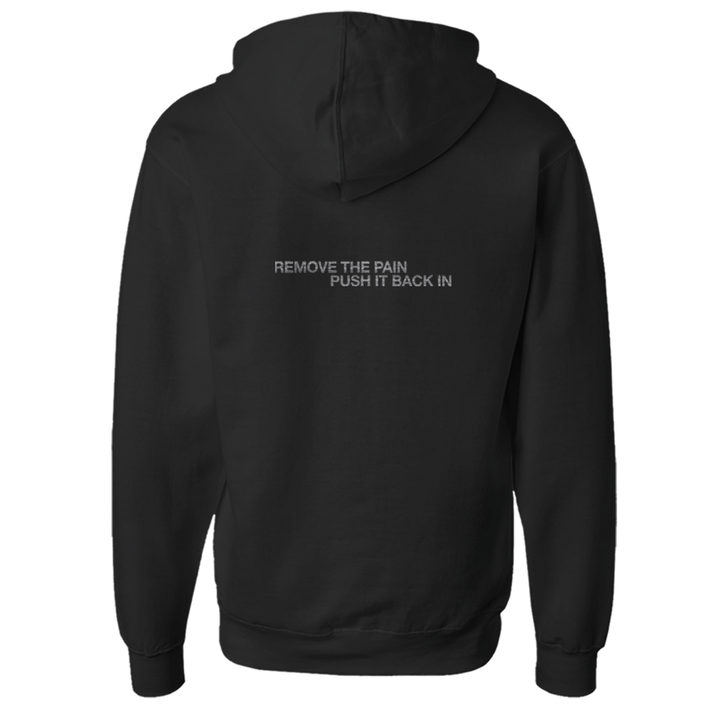 REMOVE THE PAIN PULLOVER HOODIE - NINE INCH NAILS