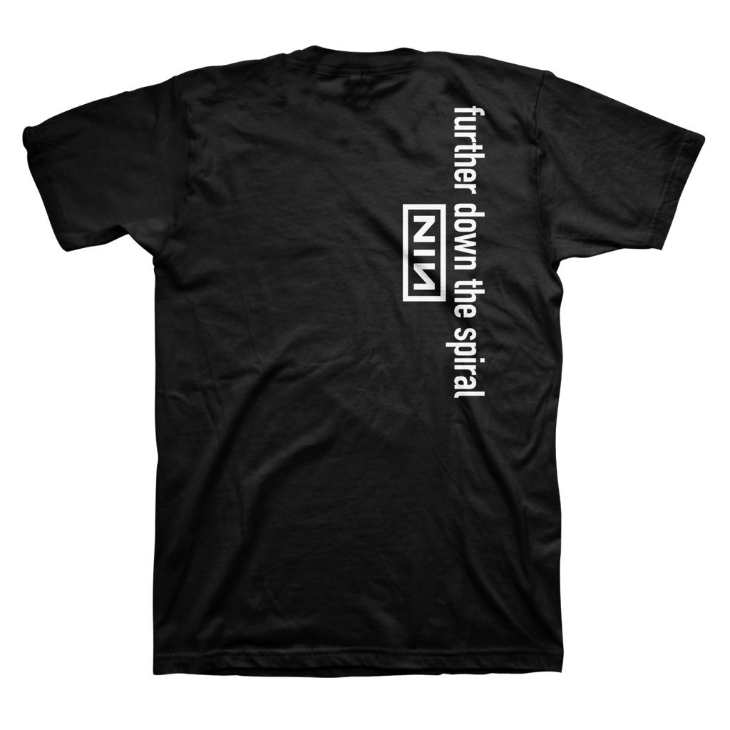 FURTHER DOWN THE SPIRAL TEE - NINE INCH NAILS