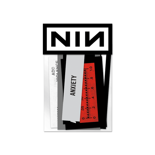 ADD VIOLENCE STICKER PACK - NINE INCH NAILS