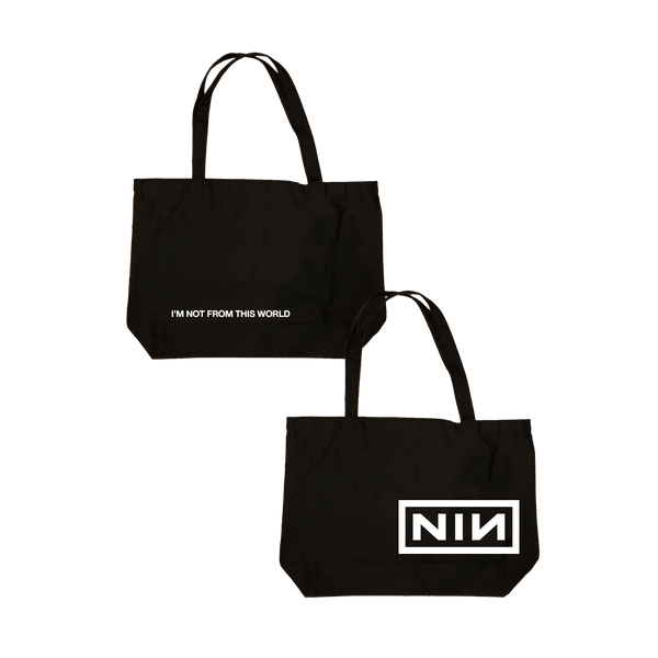NOT FROM THIS WORLD TOTE - NINE INCH NAILS