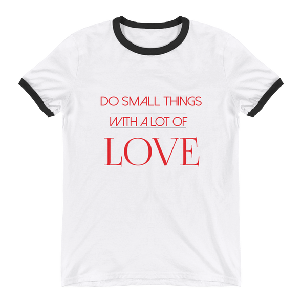 Do small things with a lot of love