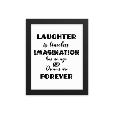 Laughter Is Timeless Print