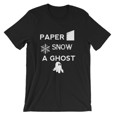 Paper, Snow, a Ghost