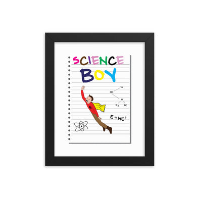 Science Boy - Friends Print