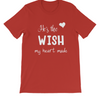 Wish My Heart Made - Couple Tees