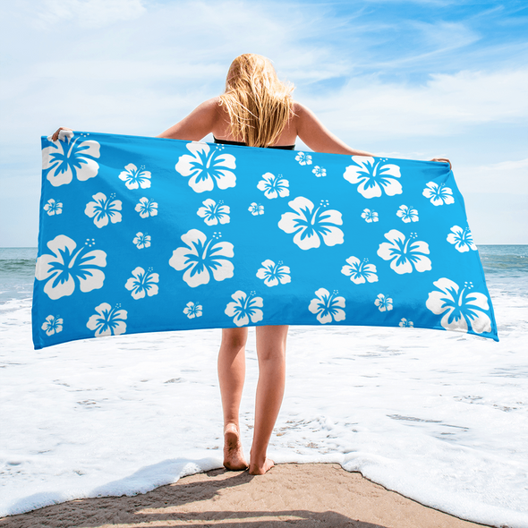 Oh So Tropical Beach Towel