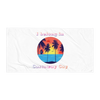I Belong In Castaway Cay - Beach Towel