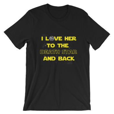 Star Wars Couple Tees -To the Death Star and back
