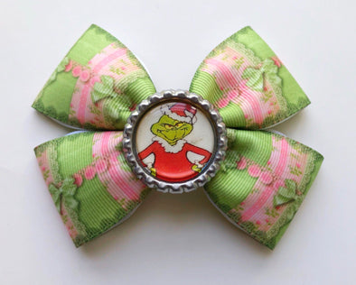 The Grinch bow