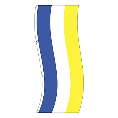 Vertical Decorative Flag - Stripes - 2 or 3 Stripe Styles - SAME PRICE!