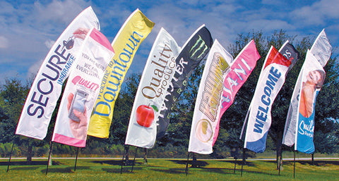 Value Kahuna Vertical Flags