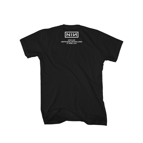 AMSTERDAM EVENT TEE - Nine Inch Nails UK