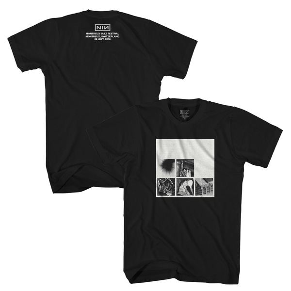 MONTREUX EVENT TEE - Nine Inch Nails UK