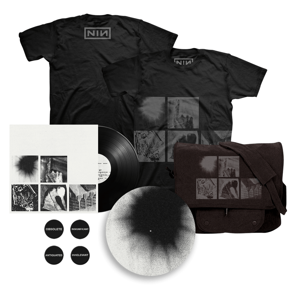 BAD WITCH LP + TEE + BUTTON PACK + SLIPMAT + MESSENGER BAG - Nine Inch Nails UK