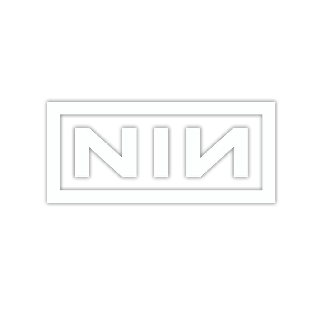 NIN LOGO DECAL - Nine Inch Nails UK