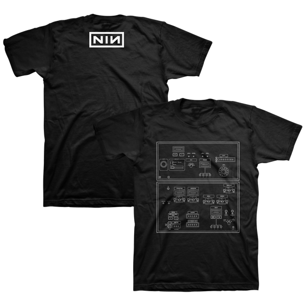 DIAGRAM BLACK TEE - Nine Inch Nails UK