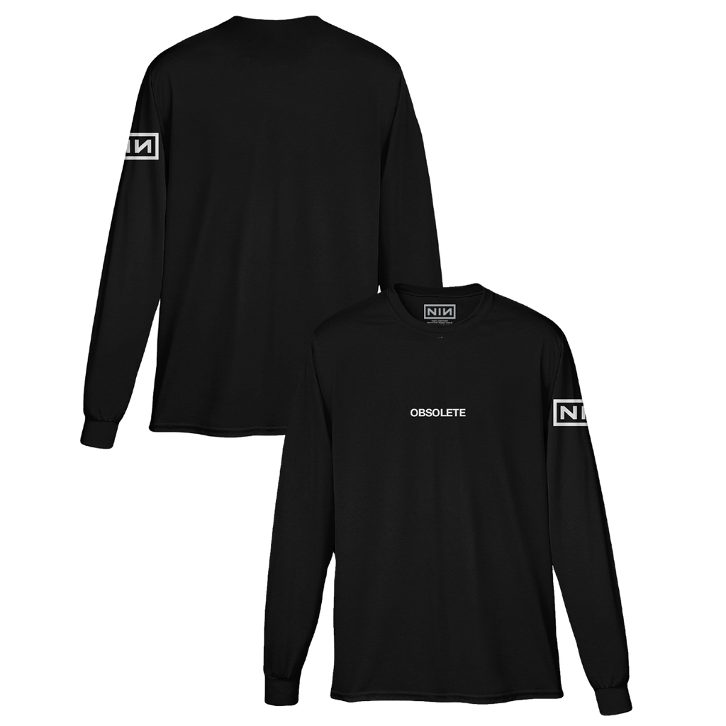 OBSOLETE LONG SLEEVE TEE - Nine Inch Nails UK