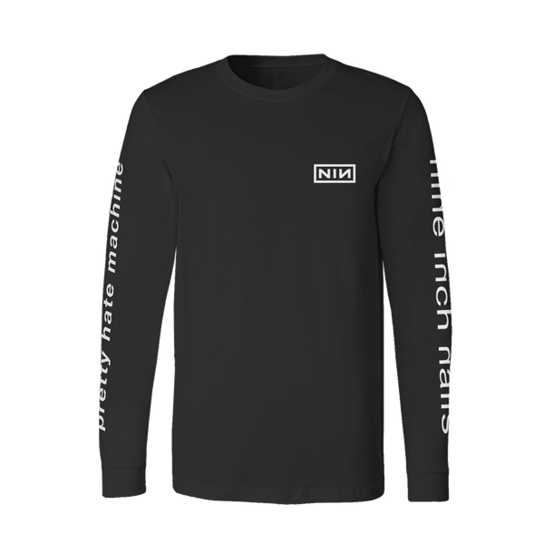 PRETTY HATE MACHINE LONG SLEEVE TEE - Nine Inch Nails UK
