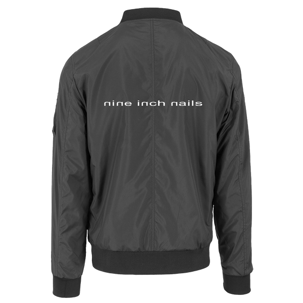 EMBROIDERED BOMBER JACKET - Nine Inch Nails UK