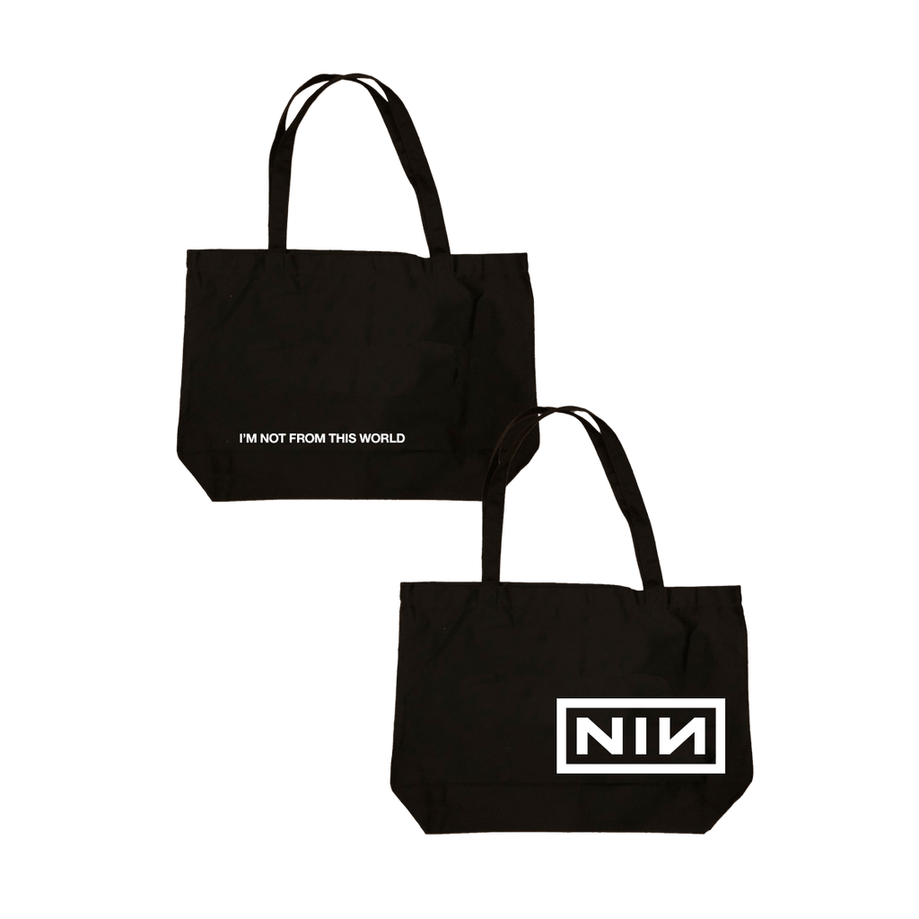 NOT FROM THIS WORLD TOTE - Nine Inch Nails UK