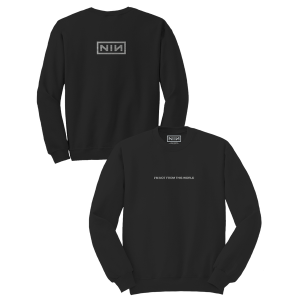 NOT FROM THIS WORLD SWEATSHIRT - Nine Inch Nails UK