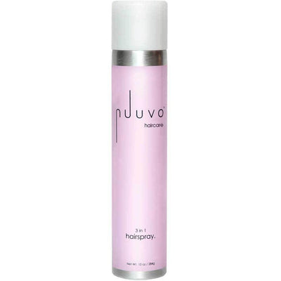 3 in 1 Hairspray (10oz) - Add volume smoothness & shine (adjustable nozzle) - Nuuvo Haircare