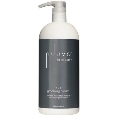 Nuuvo Haircare 3in1 Hair Cream | No Poo Cleanse | Conditioner | Unisex Shave