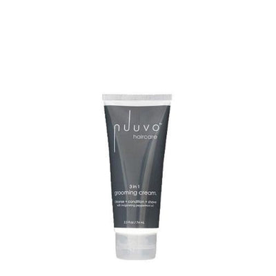 Nuuvo Haircare Salon Professional 3in1 3-Step Grooming Creme