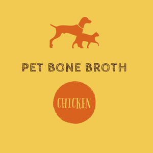 Pet Bone Broth - Chicken