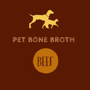 Pet Bone Broth - Beef