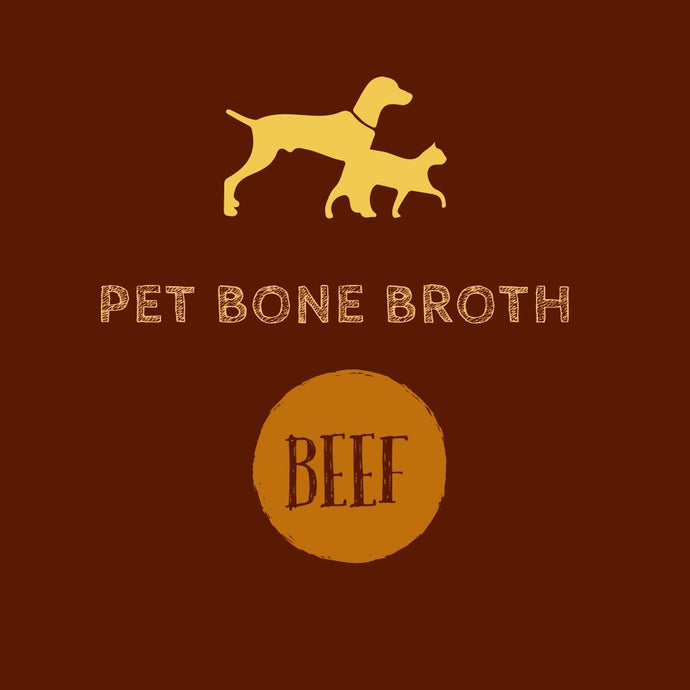 Pet Bone Broth - Beef (1L)