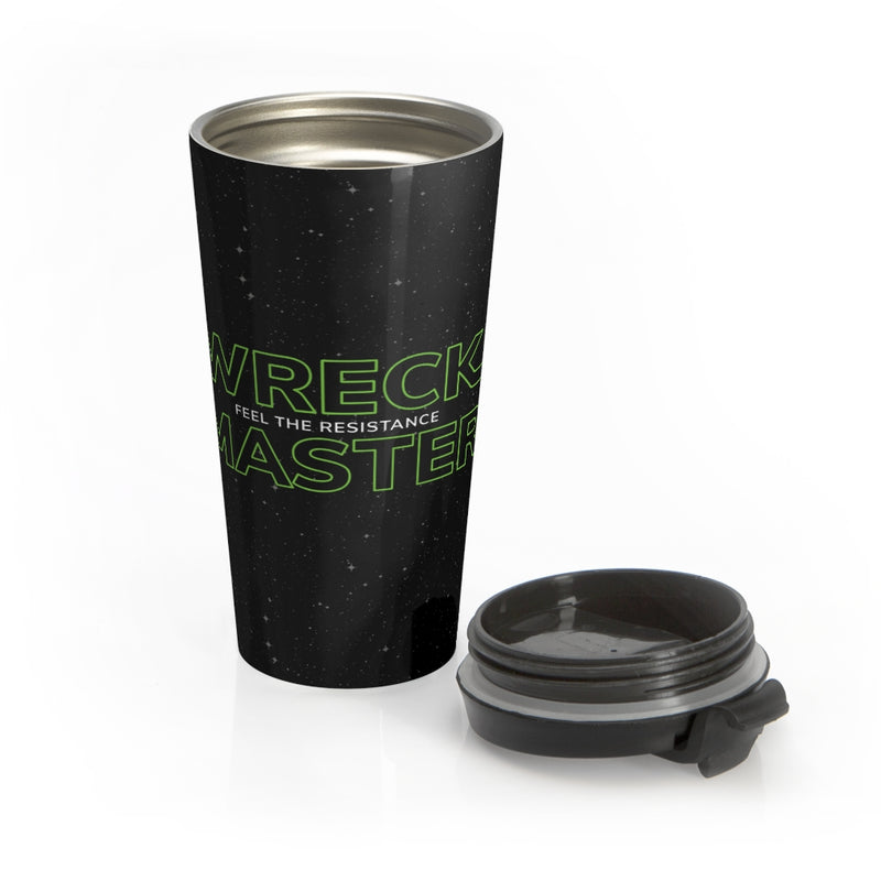 Feel the Resistance Stainless Steel Travel Mug
