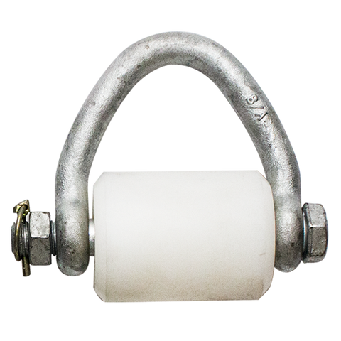 Bolt Style Web Shackle With Spool