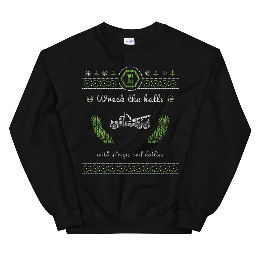 Wreck the Halls Crew Neck Sweatshirt