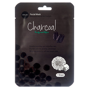 Korean Charcoal Purify & Refine Facial Sheet Mask