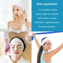 Microfiber Hair Band Women Headband White 3pcs