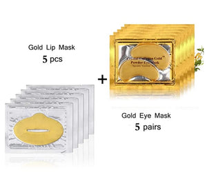 Gold Collagen Gel Lip Masks