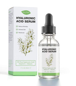 Before or After Shaving - Hyaluronic Acid Serum For Face