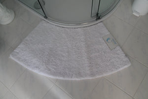 Microfibre Non Slip Medium Curved Shower Mat