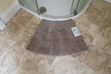 Microfibre Non Slip Small Curved Shower Mat