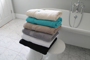 Organic Cotton 650gsm High Quality Bath Sheet Towels