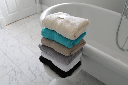 Organic Cotton 650gsm High Quality Hand Towels