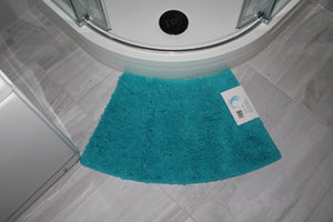 Microfibre Non Slip Mini Curved Shower Mat