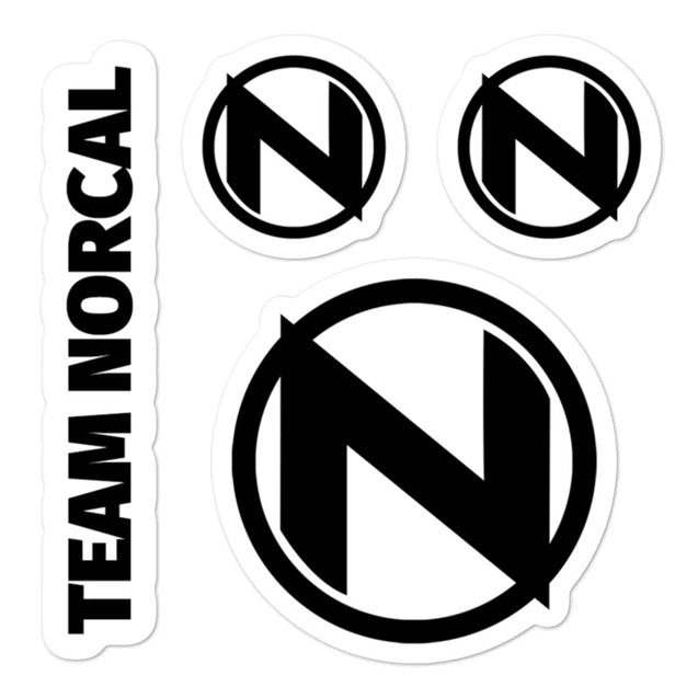 Team Norcal Sticker Multipack |  | Nerd Royale