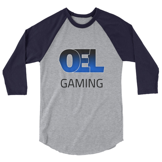 OEL Gaming 3/4 sleeve raglan shirt