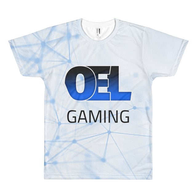 OEL Gaming All Over Print Short sleeve t-shirt | 2XL | Nerd Royale
